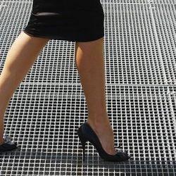 "Photo via <a href=""http://www.shutterstock.com/pic-34581253/stock-photo-side-view-of-business-woman-balancing-on-high-heels-copy-space.html?src=agI7ZZpzlRTD6c6zMrysOQ-1-62"">Diego Cervo</a>/Shutterstock"