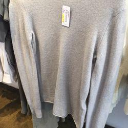 Inhabit cashmere crew sweater, $75 (from $357)