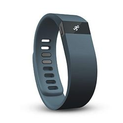 """The FitBit Force: $130 """"Wearable fitness trackers are everywhere, but none tops the Fitbit Force in accuracy and ease of use. The refresh of the popular Flex model is water-resistant and boasts a bright OLED screen for displaying stats like number of ste"""