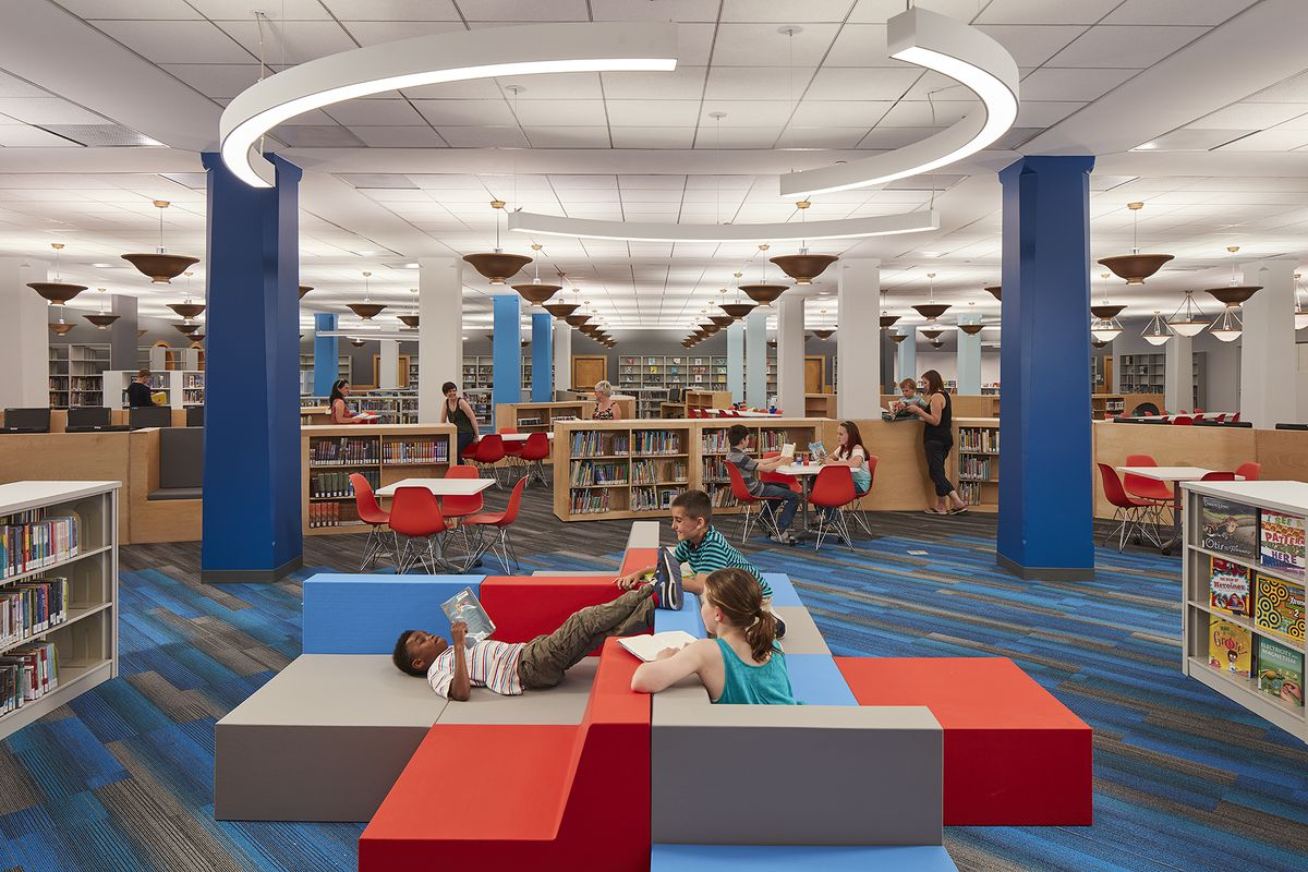 Gensler Designed Children S Library Opens At Chicago S Harold Washington Library Curbed Chicago
