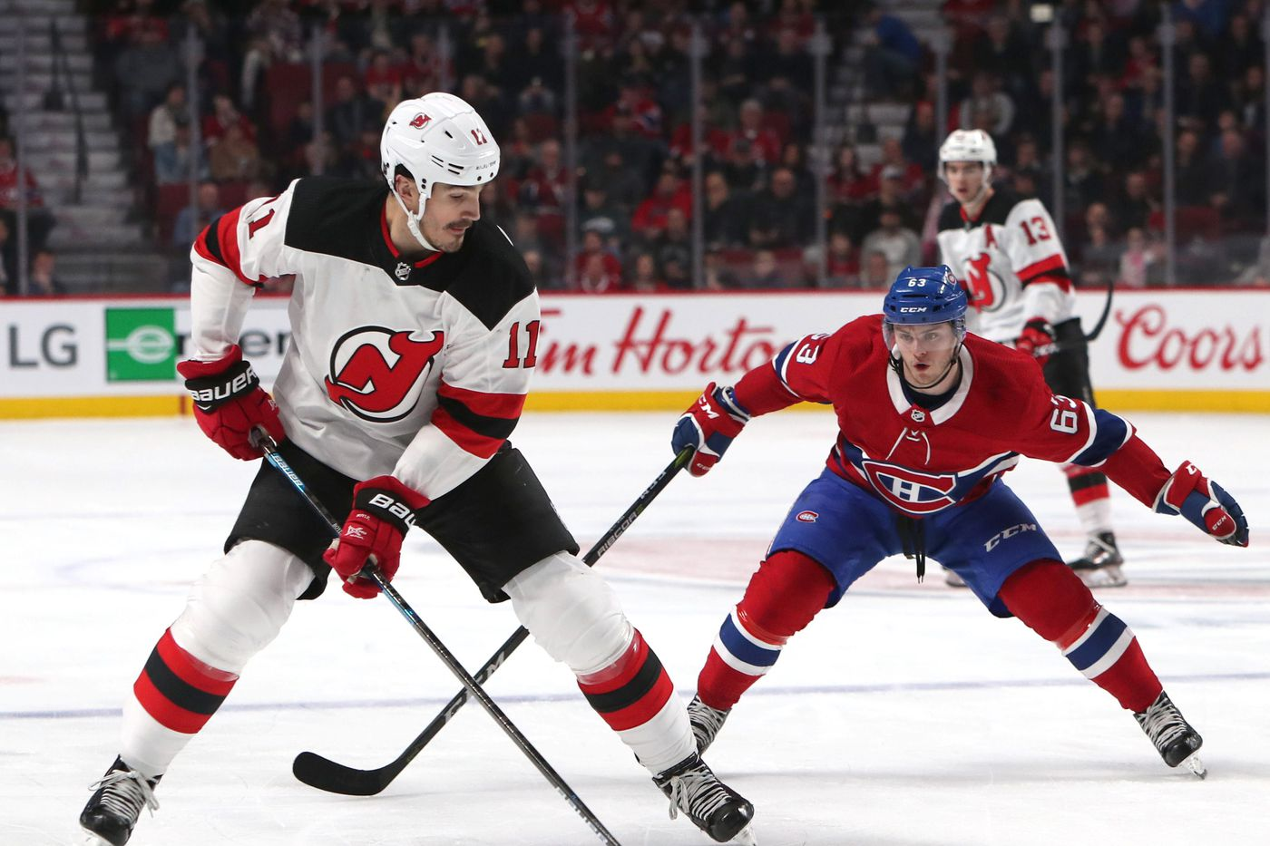 New Jersey Devils send Brian Boyle to Nashville - All About The ...