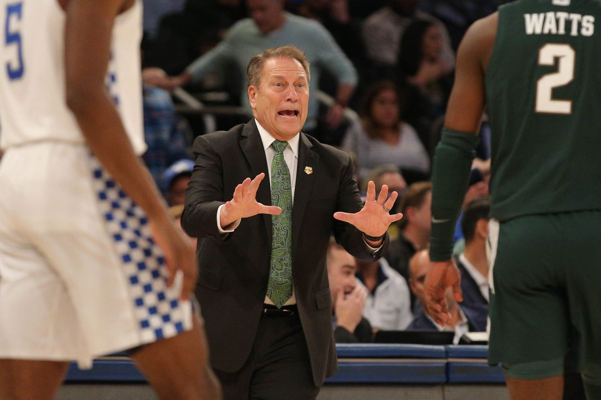 NCAA Basketball: Kentucky at Michigan State