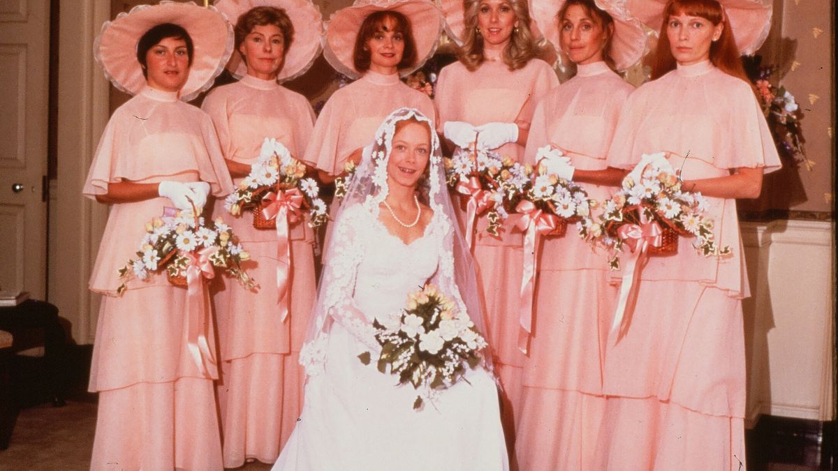 34415477722 A Cultural History of Ugly Bridesmaids Dresses - Racked