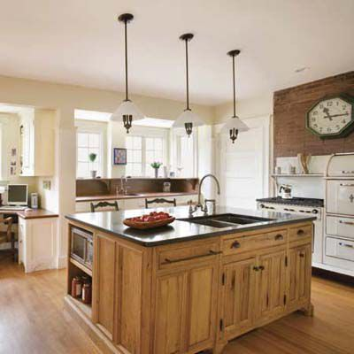 Anatomy Of A Modern Vintage Kitchen This Old House