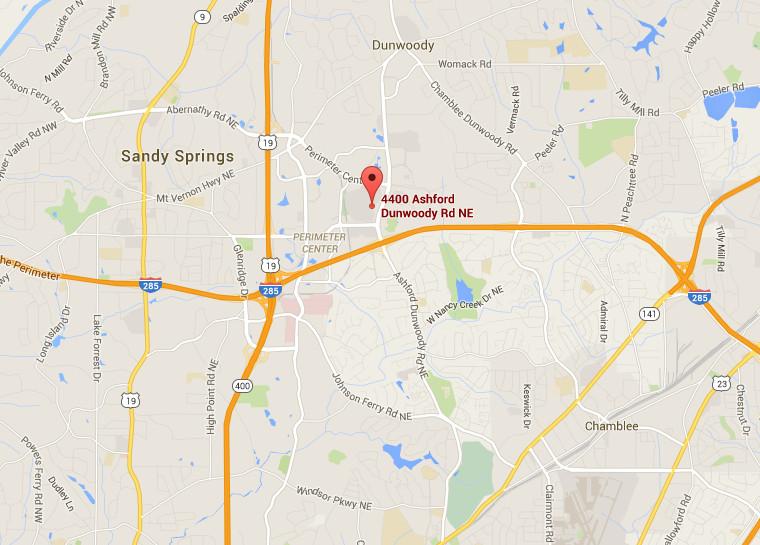 Shake Shack Atlanta map