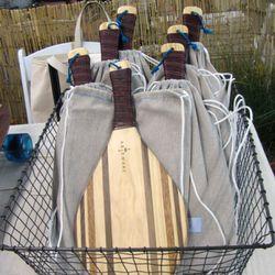 Artemare's handmade beach paddles ($95.)