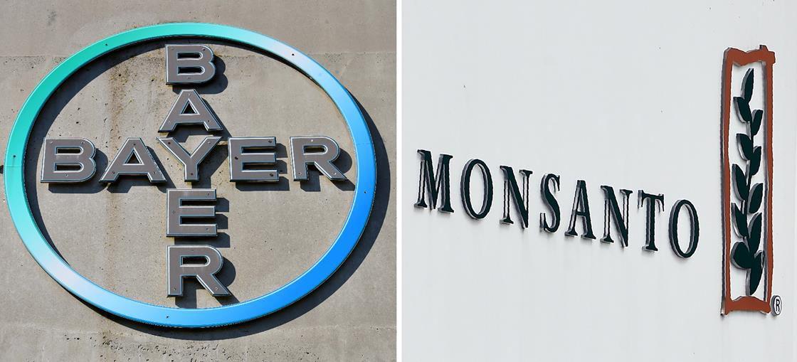 Bayer and Monsanto signs