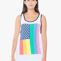 30% of proceeds from American Apparel's Pride merch goes to the Equality Act.