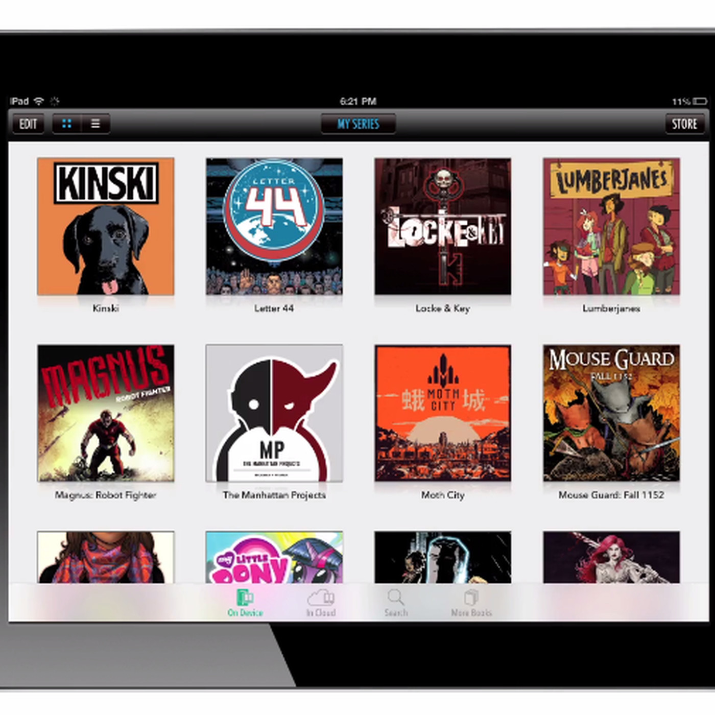 Comixology users can now download DRM-free backups of some comics