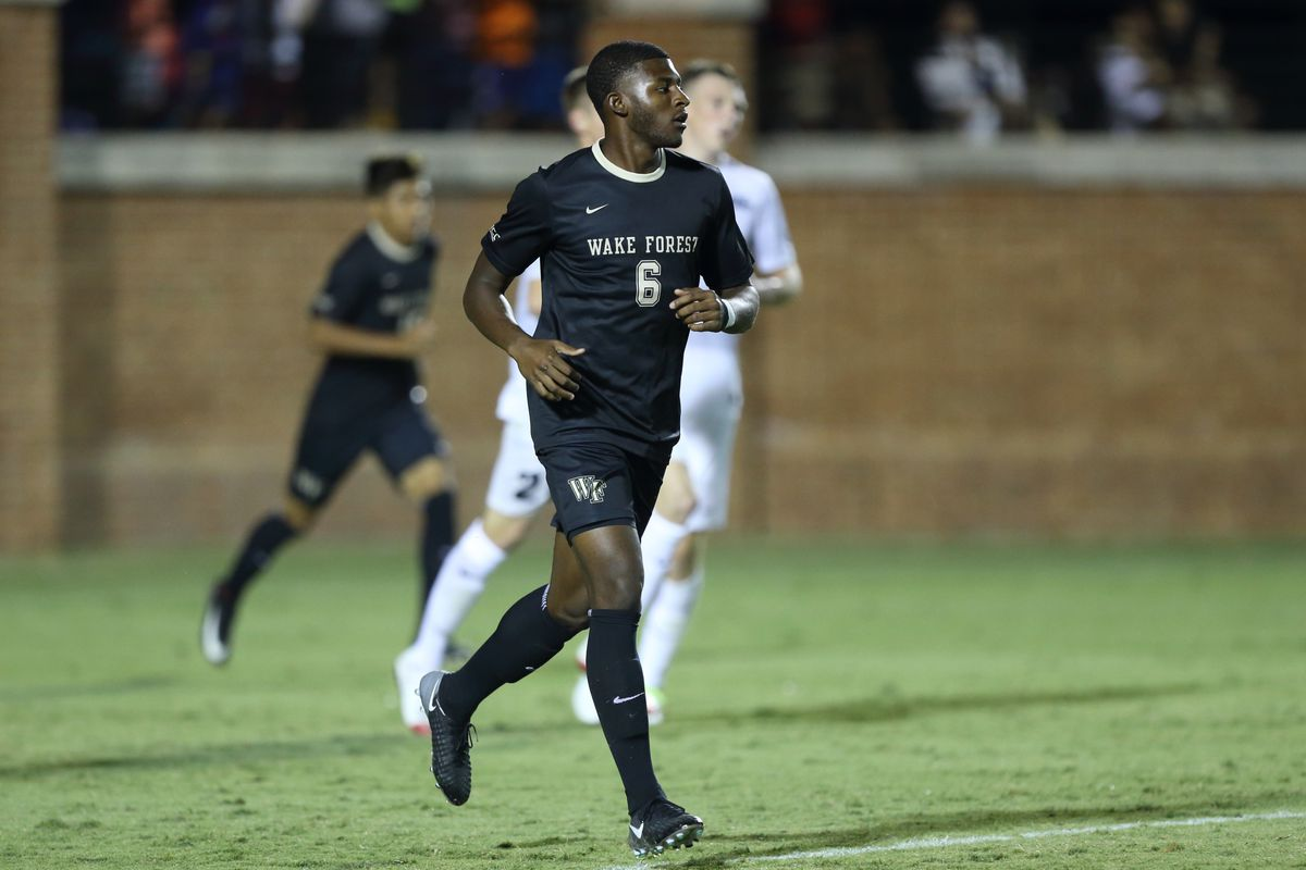 The Wake Forest Demon Deacons played host to the Providence Friars in NCAA men's soccer action at Spry Soccer Stadium on August 27, 2017 in Winston-Salem, North Carolina.  The Demon Deacons defeated the Friars 4-1.  (Brian Westerholt/Sports On Film)