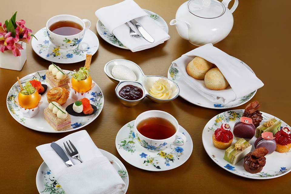 Afternoon tea at Aria