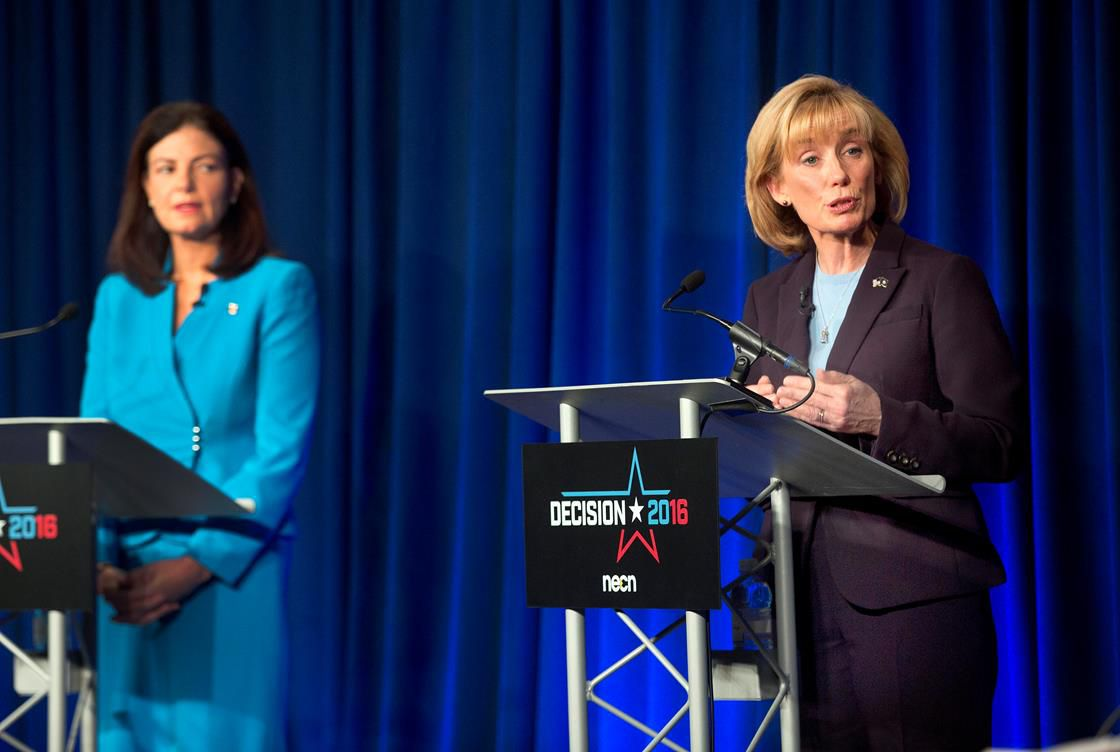Kelly Ayotte and Maggie Hassan
