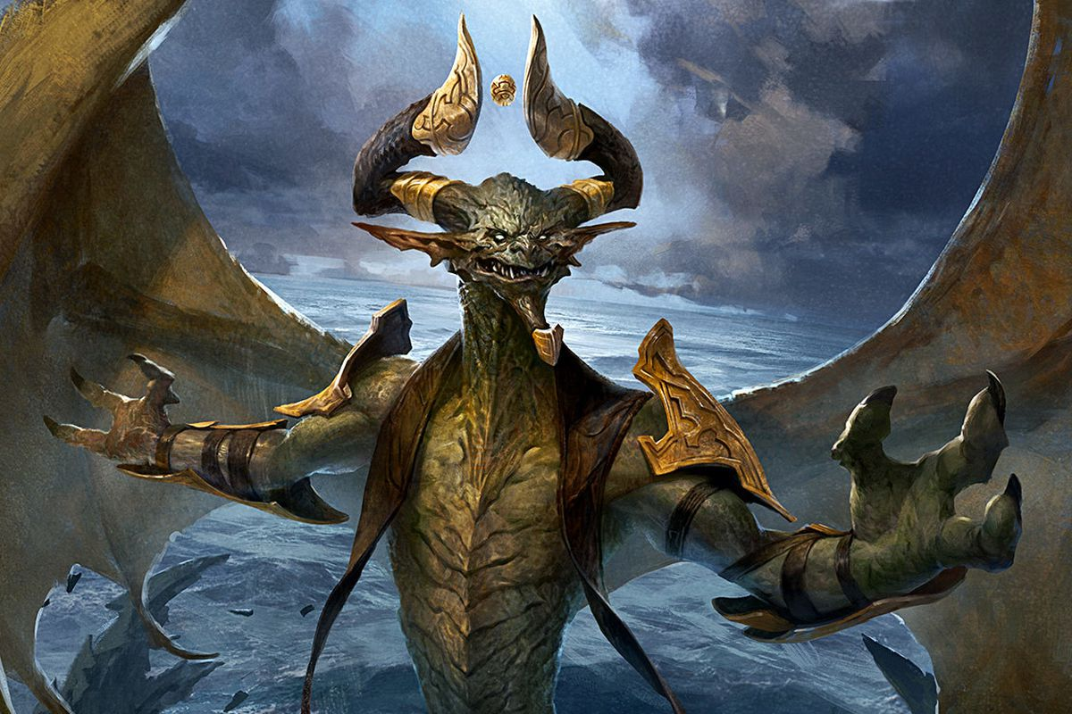 Out of character nicol bolas by wanderertamplior requested on his stream magictcg - Image de dragon ...