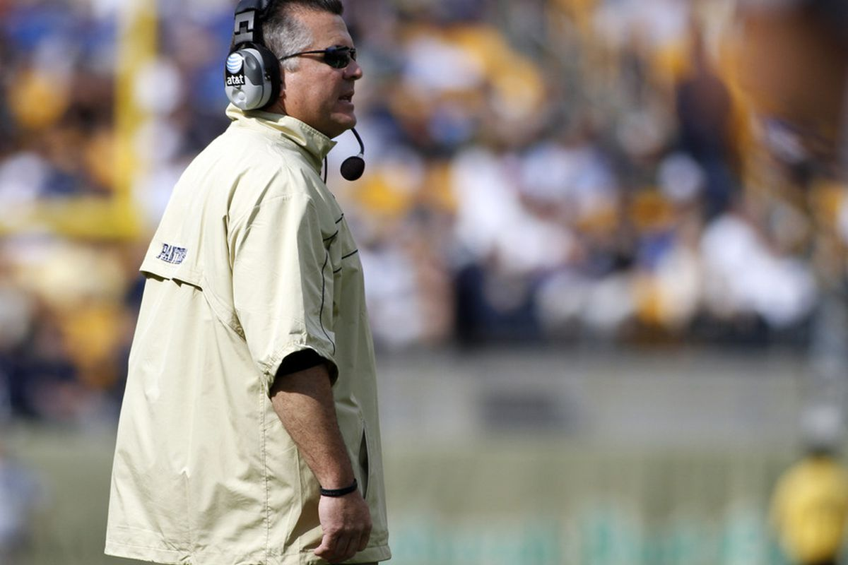 Is the Michael Haywood/Todd Graham era a reason for Pitt not faring well in preseason projections? (Photo by Justin K. Aller/Getty Images)