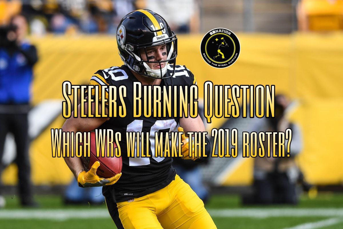 bbf40b84e74 Steelers Podcast: Who will win the wide receiver battle for the Steelers in  2019?