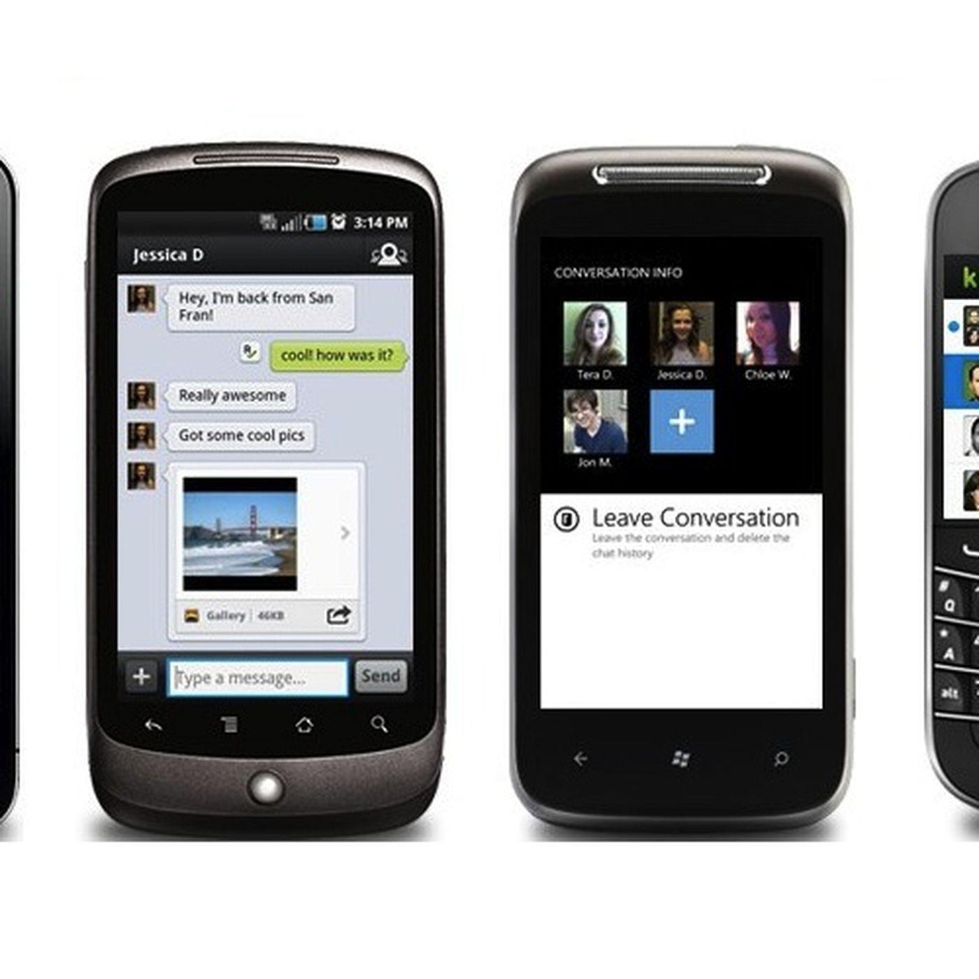 Kik Messenger returns to BlackBerry, but not through App