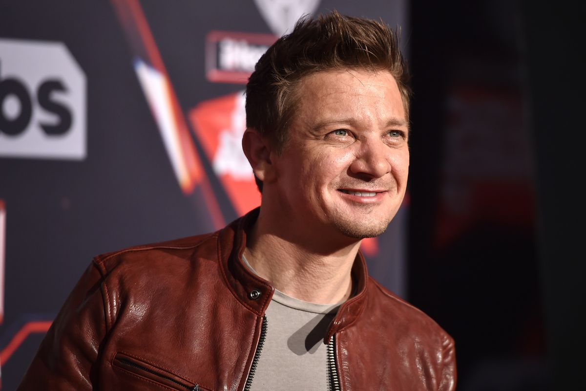 Jeremy Renner has an a...