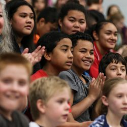 People watch as the Salt Lake City Stars play the Los Angeles D-Fenders at the Lifetime Activities Center in Taylorsville on Wednesday, Feb. 08, 2017.
