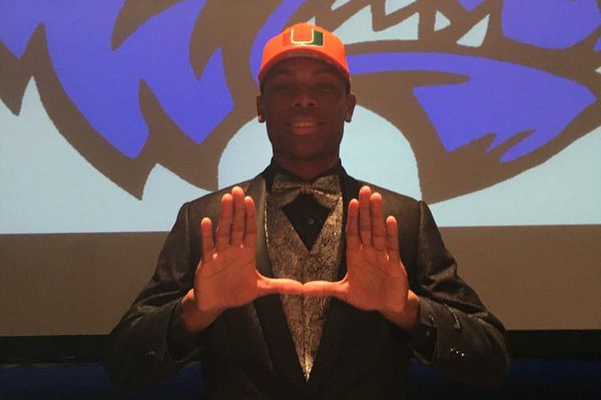 Elite WR recruit Ahmmon Richards is the Ultimate Pick Up for Miami's 2016 recruiting class