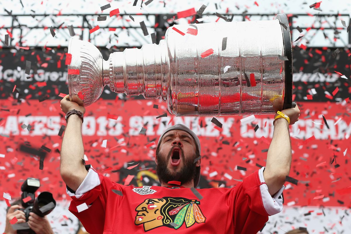 Chicago Blackhawks Victory Parade And Rally