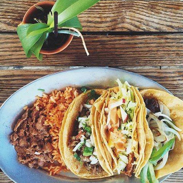 Tacos from Tyson's