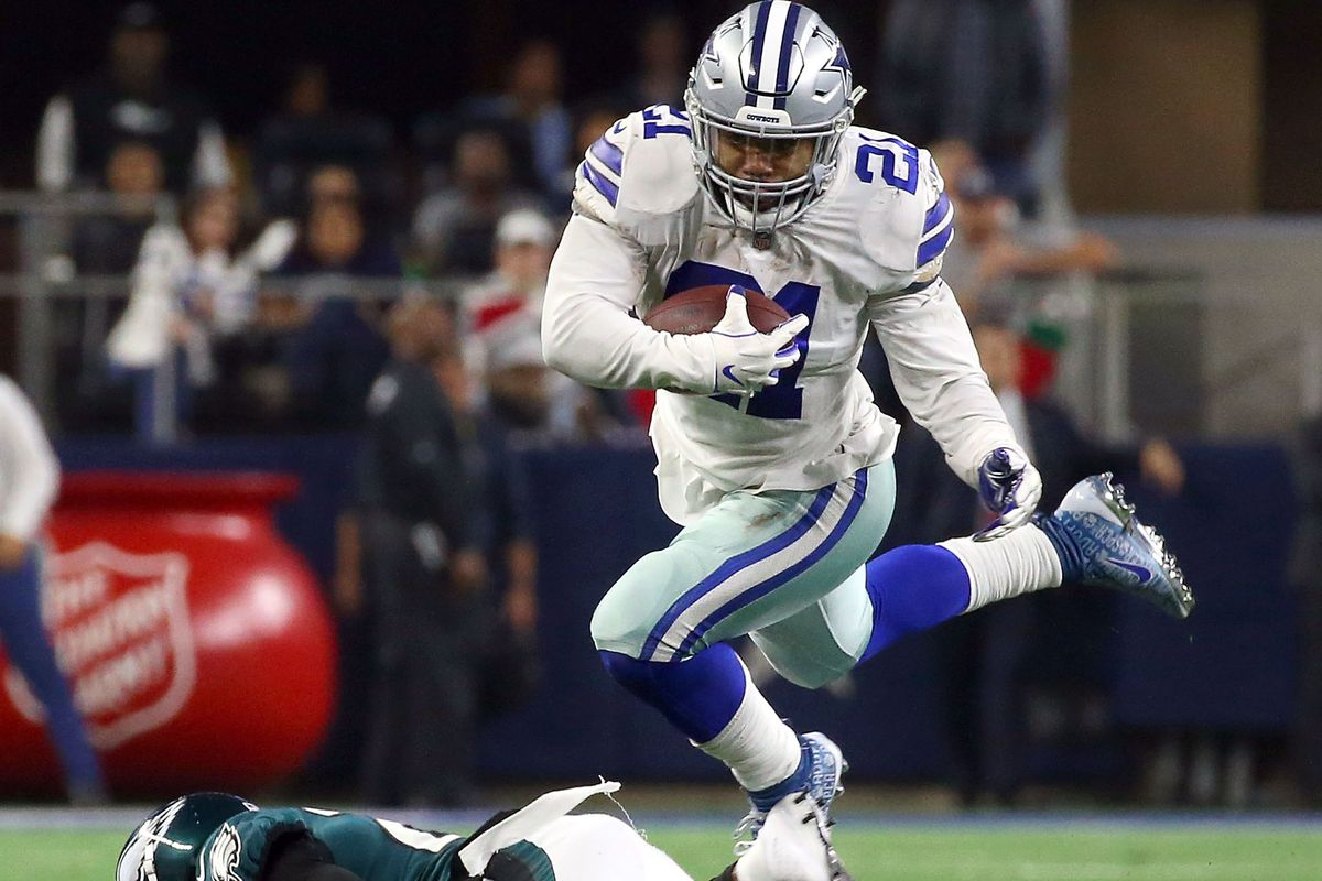 ce47bb8d Cowboys news: Ezekiel Elliott would like a rushing title, but would rather  have wins