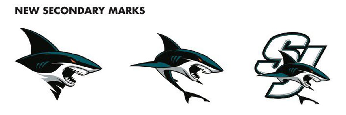 the shark looks ferocious and will look fantastic on san joses teal jerseys id also like to get one of these logos on a hat sohurry up and take