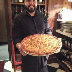 Thin crust pizza at LaBriola Ristorante in Chicago. | Sun-Times Staff.