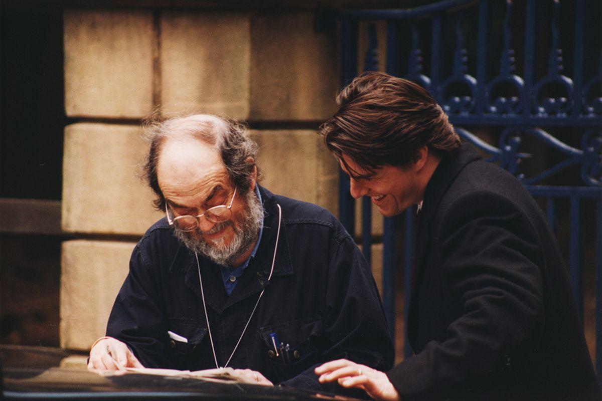 Stanley Kubrick and Tom Cruise
