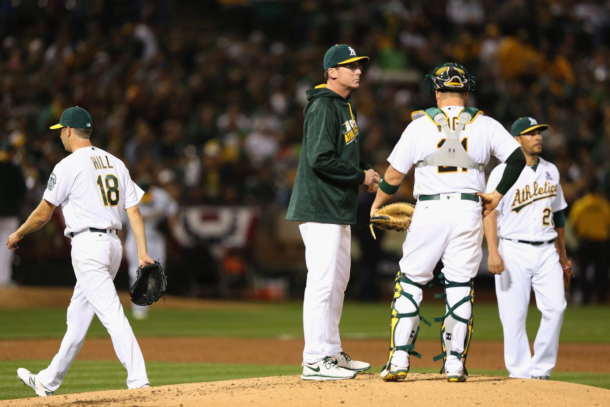 Sadly, this was one of Bob Melvin's easier decisions.
