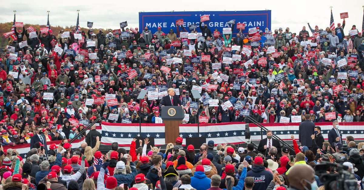 Trump?s closing message is lying about the coronavirus at rallies that spread infection