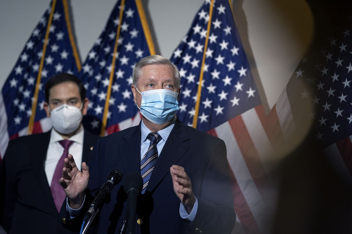 "Republican Senators Hold Press Conference On Democrat ""Court-Packing Plan"""
