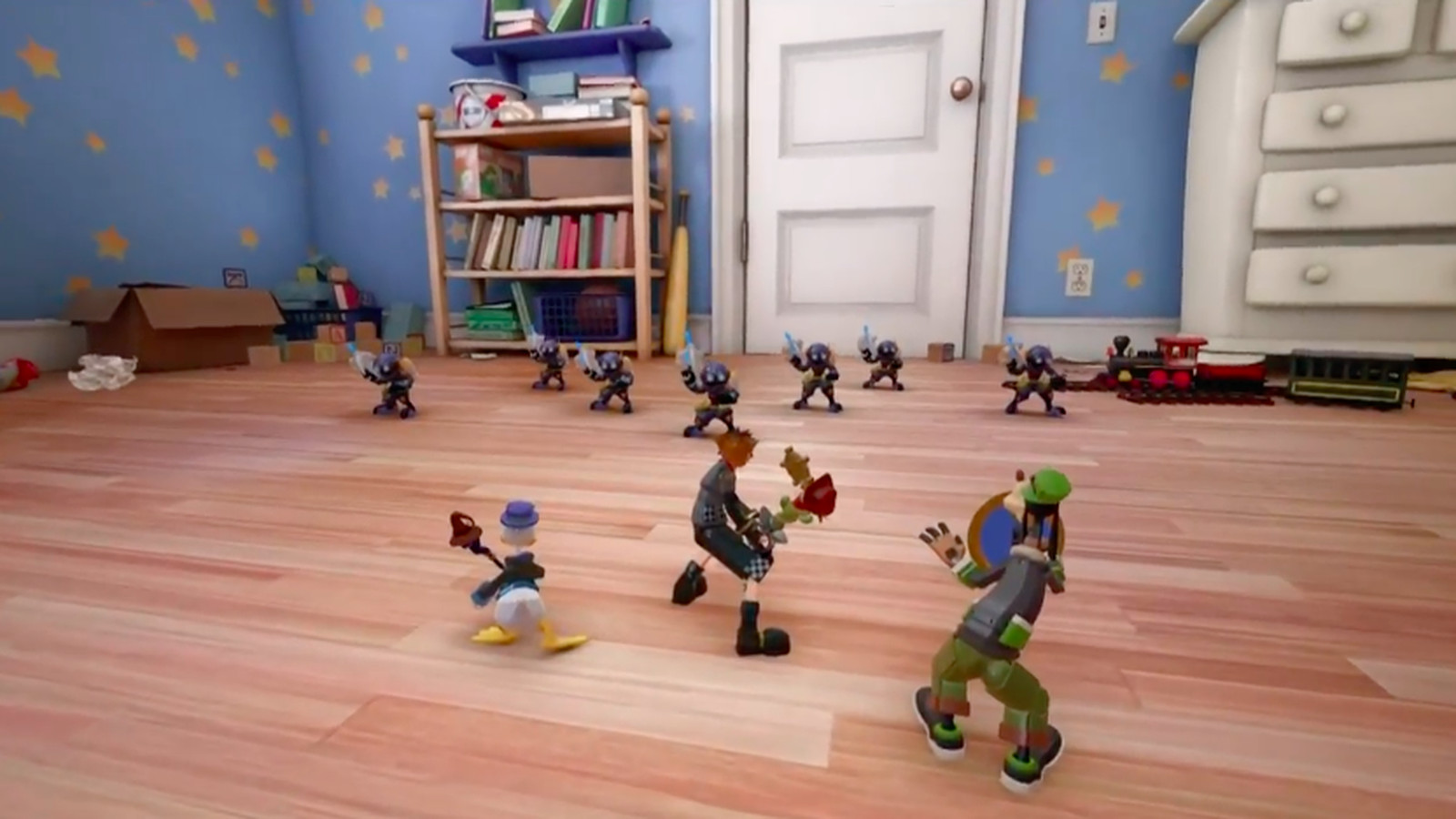 Kingdom Hearts 3 gets a new trailer and its first Pixar-based world