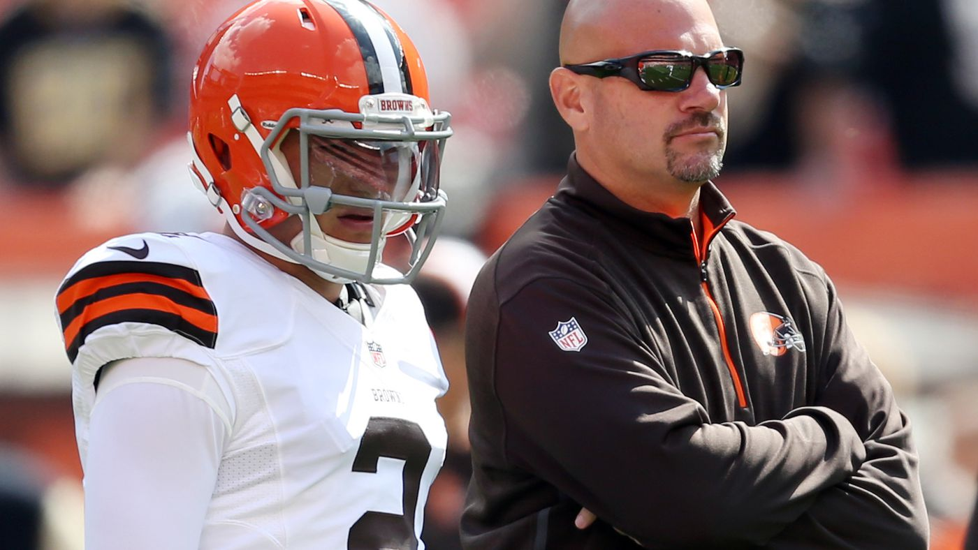 Mike Pettine disappointed in Johnny Manziel, open to using draft pick on QB