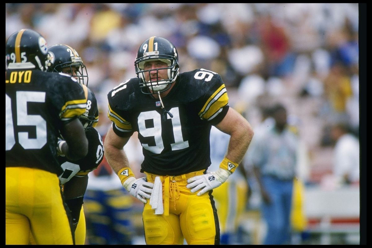 75f9b7d3841 Why the  Blitzburgh  Steelers defense of the 90s had the best linebackers  in NFL history