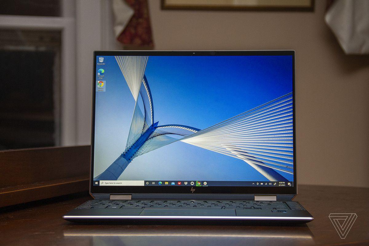 Best Laptop 2021: HP Spectre x360 14