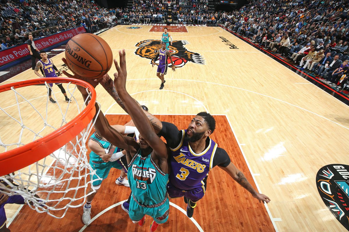 Lakers Anthony Davis Is Thriving Under The Brightest Of