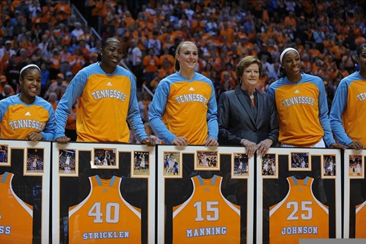The SEC women's basketball tournament might come down to which Tennessee Lady Vols team shows up in their first round game on Friday. <em>Randy Sartin-US PRESSWIRE</em>