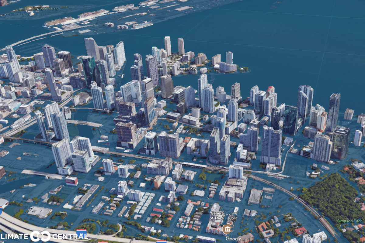 Here's what Miami could look like in 2100 - Curbed Miami
