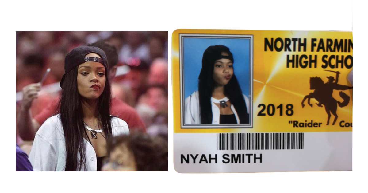 photo image You'll never have an ID photo cooler than these high schoolers