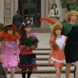 """Who wouldn't want a stylish troop leader like Phyllis? (Fun fact: Her daughter was played by Jenny Lewis, who grew up to be quite the <a href=""""http://la.racked.com/archives/2012/10/18/jenny_lewis_rocks_harlyns_launch_party_at_harvard_stone.php"""" target=""""_b"""
