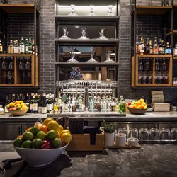 Locally grown and internationally known cocktail creators Bittercube set up the bar and wrote the cocktail list.