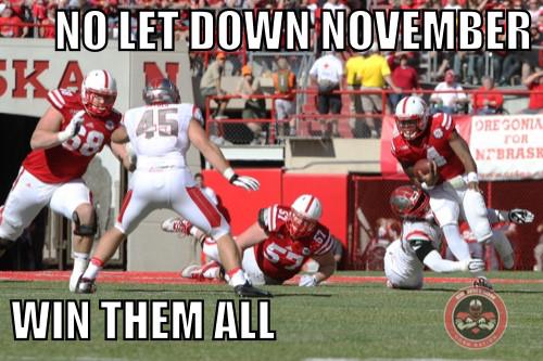 No Let Down November