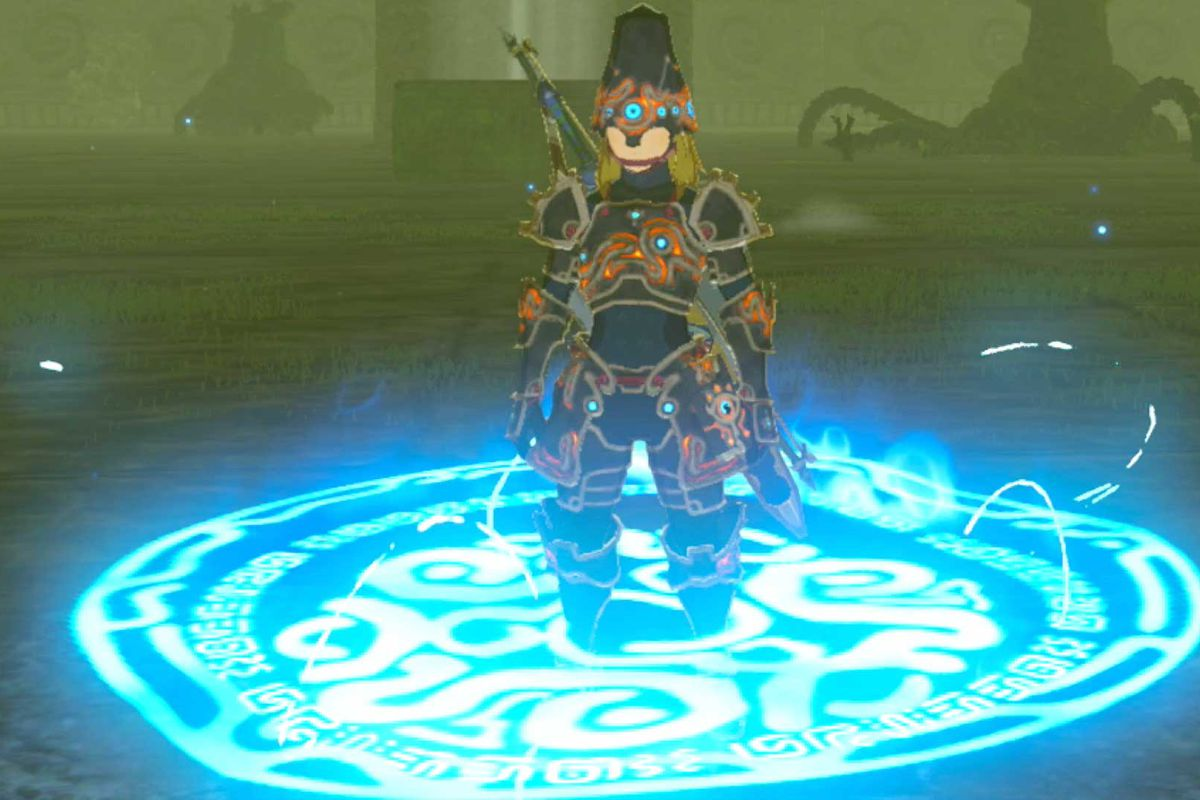 Player discovers hidden area in Breath of the Wild DLC