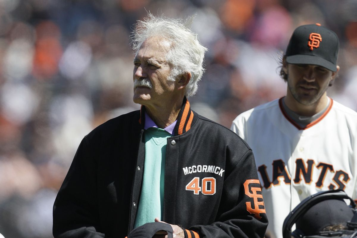 Former San Francisco Giants pitcher Mike McCormick, who won the Cy Young Award in 1967, died Saturday, June 13, 2020, at his home in North Carolina after a long battle with Parkinson's disease. He was 81.