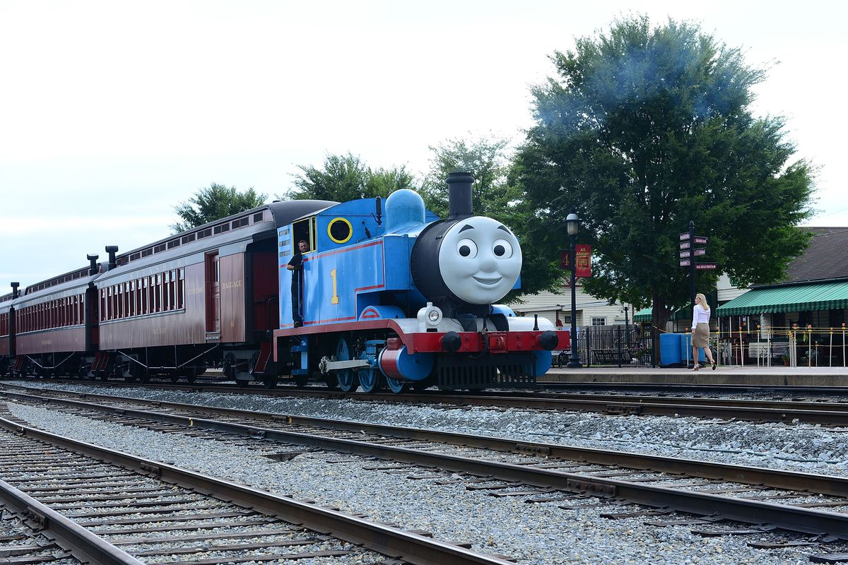 Day Out With Thomas: The Thrill Of The Ride Tour 2014 Goes Green As Thomas The Tank Engine's Best Friend Percy Makes North American Debut
