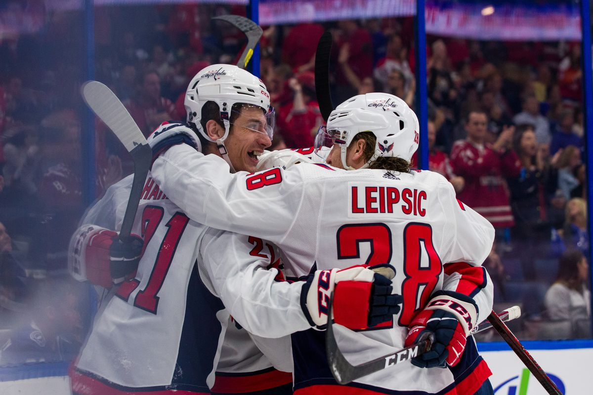 Capitals Vs Lightning Recap Every Line Scores In Capitals 5 2 Win Against The Lightning Japers Rink