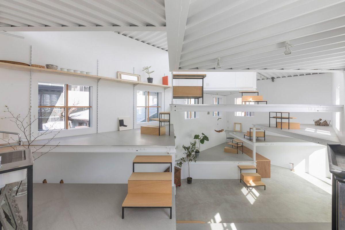 Radically Open Japanese Home Is Made Up Of 13 Spiraling