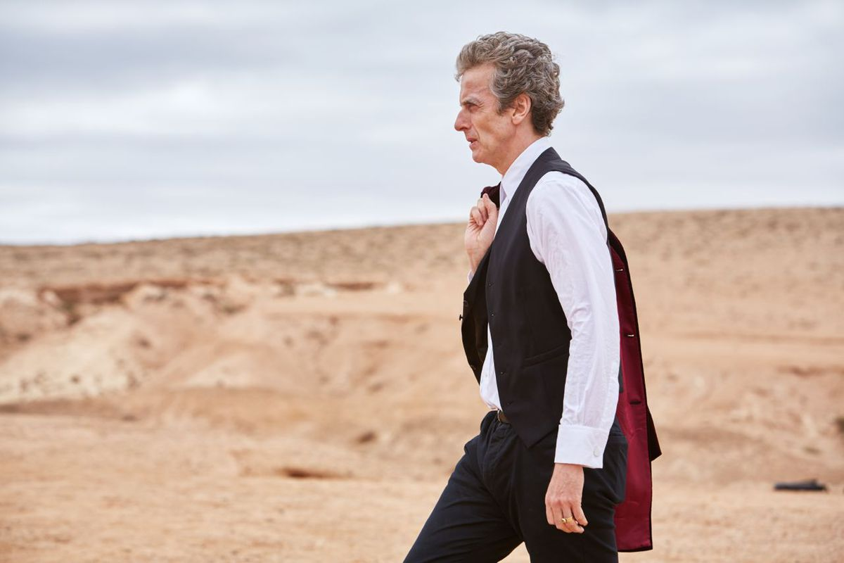 The Doctor goes to Gallifrey.
