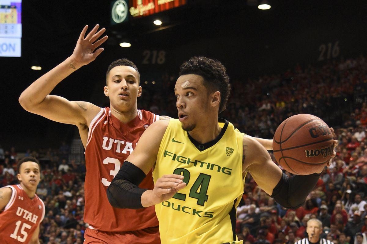 NCAA Basketball: PAC-12 Conference Tournament-Utah vs Oregon